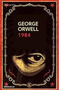 1984 libro George Orwell. Descubre más libros en tu blog de libros y reseñas de libros Leer para Pensar